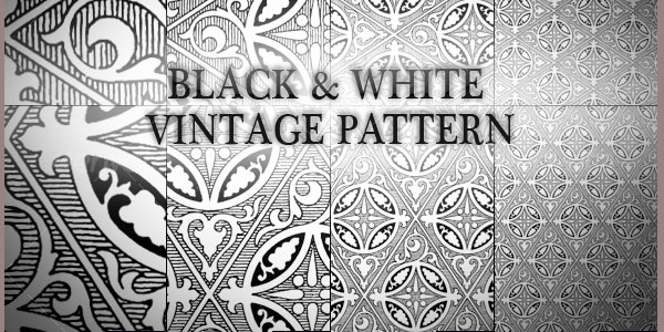 Black N White Vintage Pattern