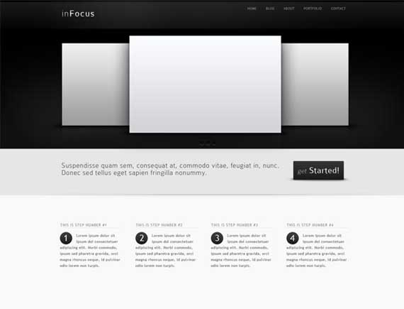 30+ Free Useful Professional PSD Web Templates June\'s 2011 ...