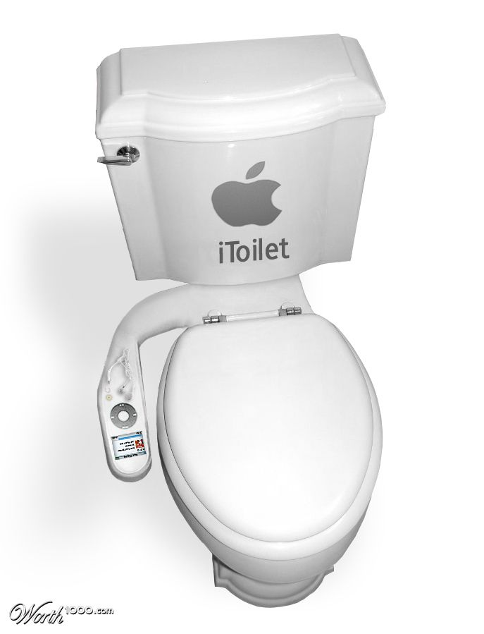 iToilet future Apple