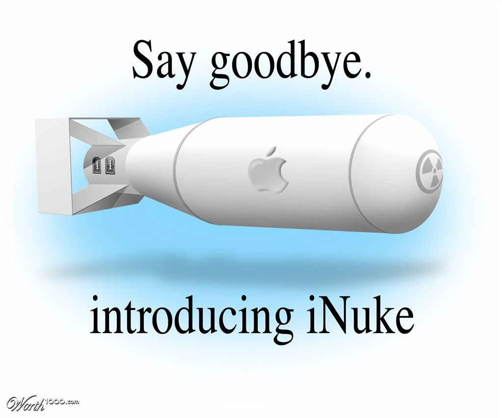 iNuke Apple Future Gadget