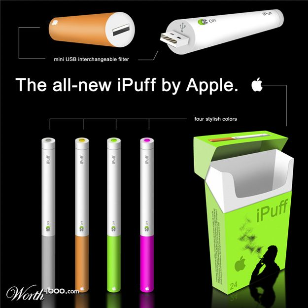 iPuff Apple Gadgets