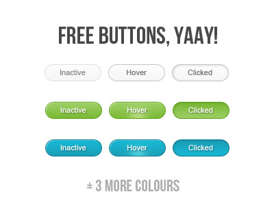 Free buttons, yaay! by Daniel Sandvik