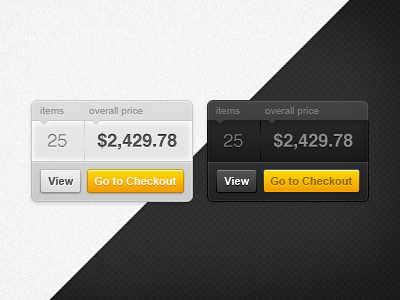 Your cart widget by Pawel Kadysz