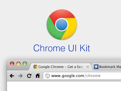 Chrome UI Kit by Todd Hamilton