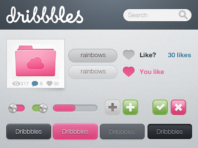 Dribbbles by Kevin Andersson