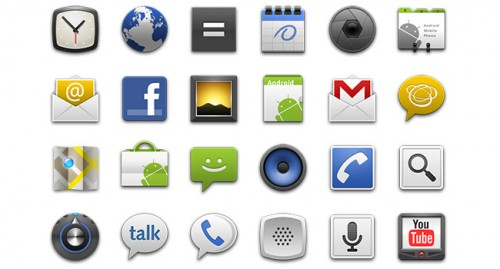 Android Standard Launcher Icons