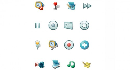 Android Developer Common Icon Set