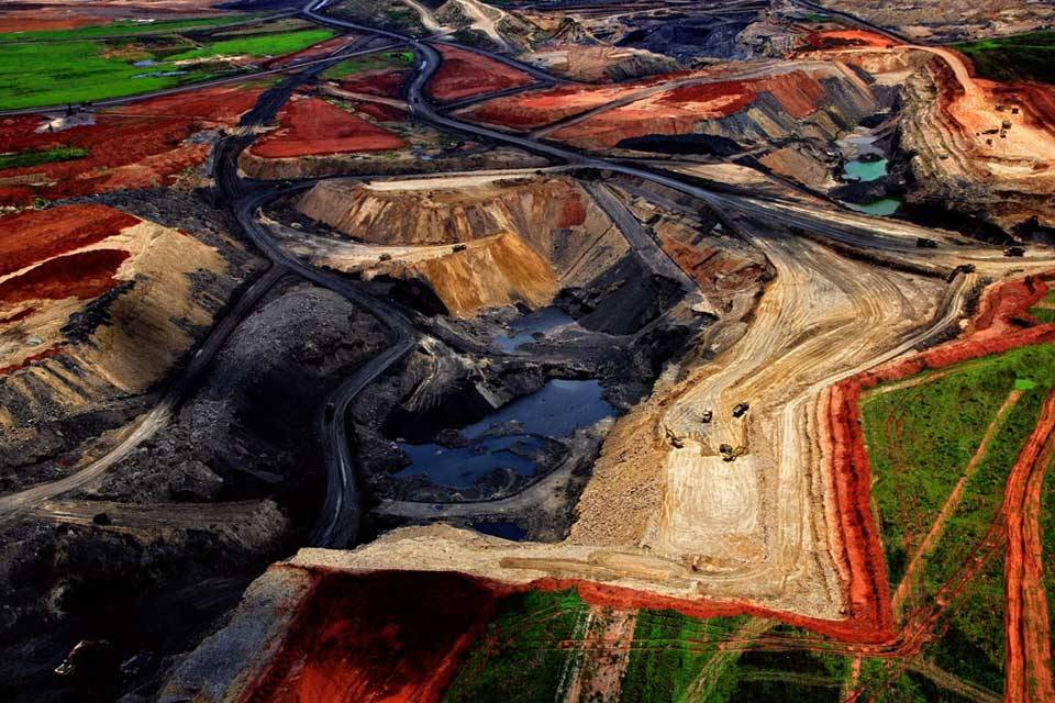 Coal mine in South Africa
