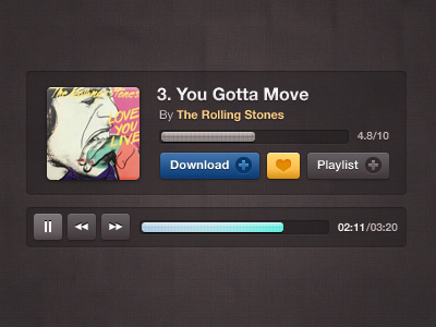Compact Music Player Freebie by Daryl Ginn