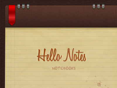 Notepad PSD by Christian Baroni
