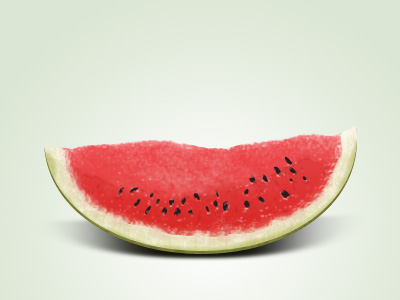Watermelon slice by Ioan Decean