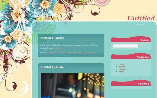 Dream Theme Tumblr Theme