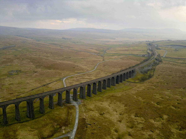 Ribblehead Viaduct, Yorkshire