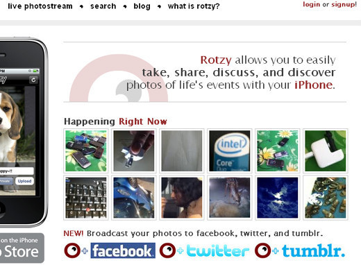 Rotzy Tumblr Theme