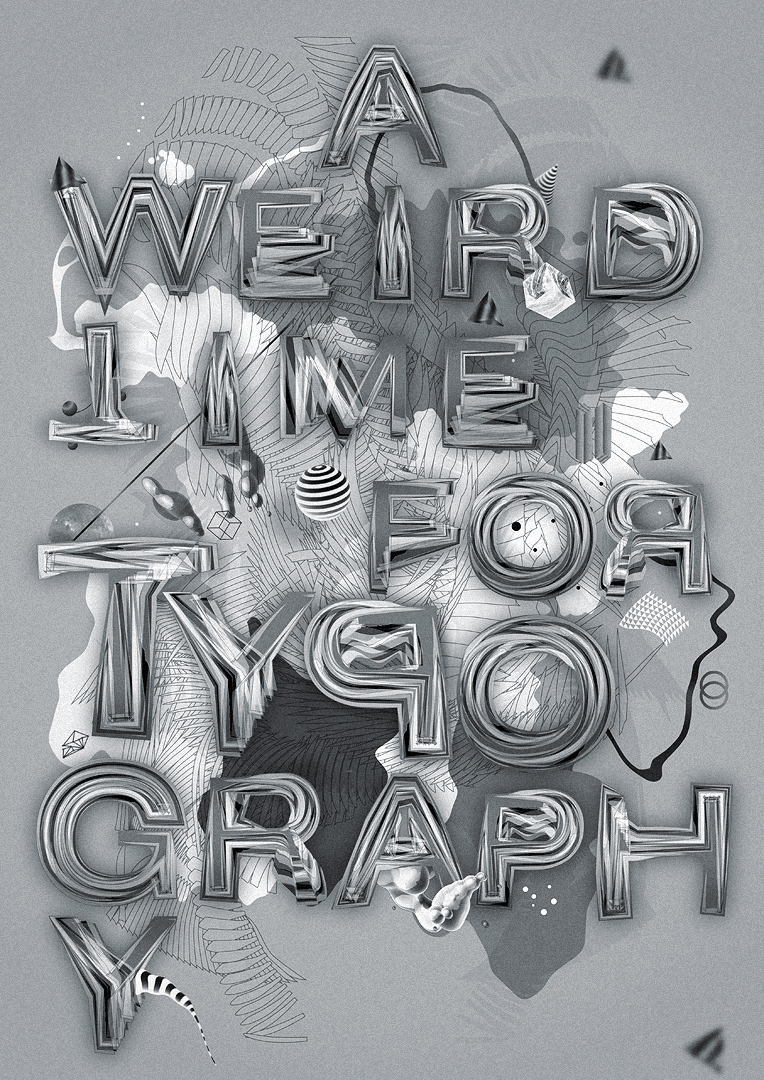 Weird typography HD Inspirational Showcase Of 2011