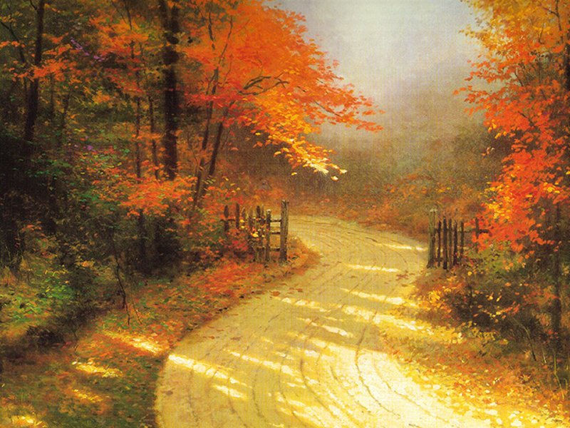 20 best autumn road desktop wallpaper 2011 themescompany