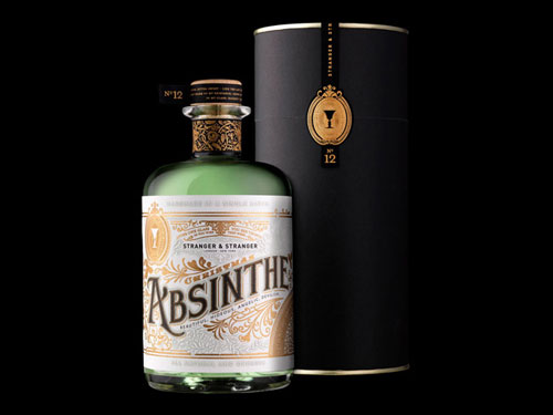 beverage labels and packaging design absynth