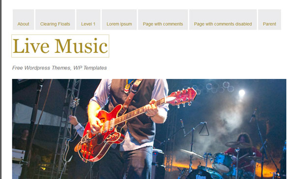 live-music-wordpress-themes