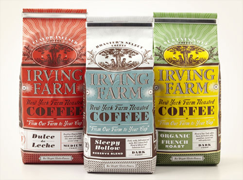 packaging design irving-farm-coffee