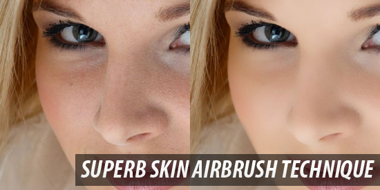 photoshop superb_skin_airbrush_technique