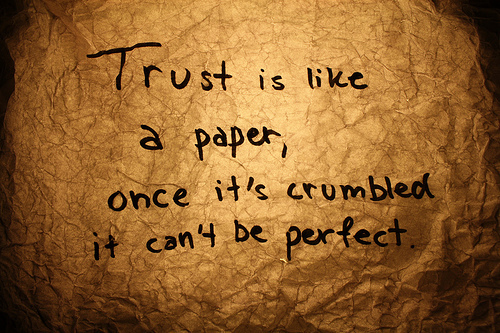 Quotes On Trust (34)