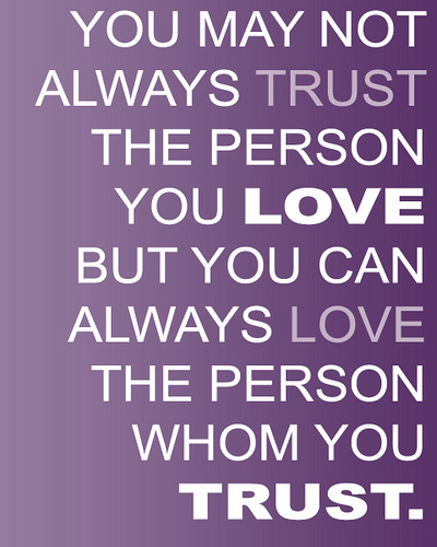 quotations on trust - photo #2