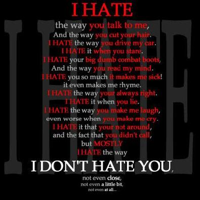 Hate Love Quotes : Hate Quotes (8)
