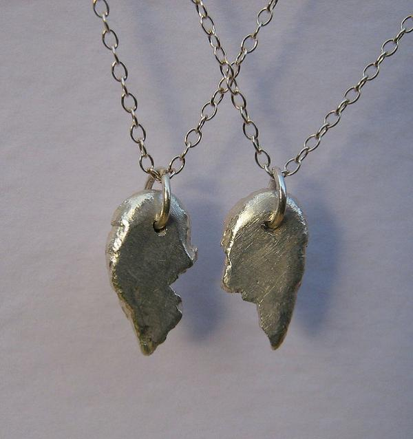 Broken Hearts Pendants
