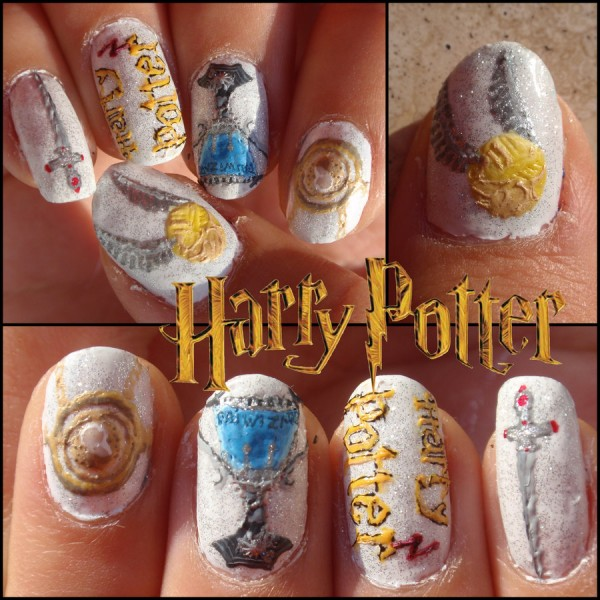 harry potter nails 2