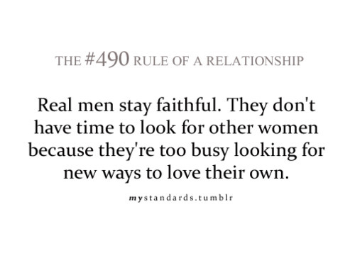 Man's Relationship Quote