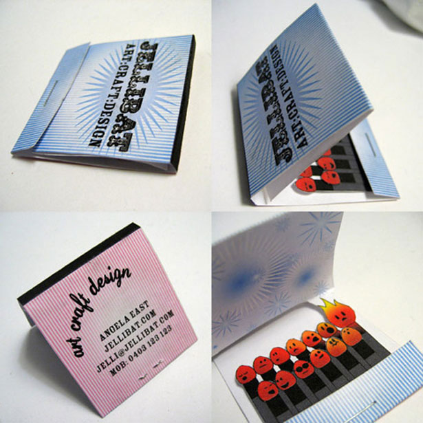 30 most creative business cards ideas  themes company