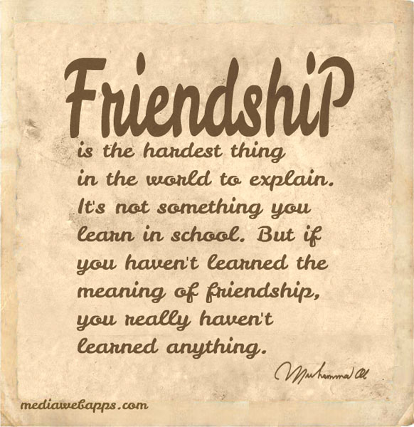 The 104 Best Friendship Quotes Ever  Curated Quotes
