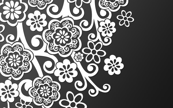 25 unique black and white patterns