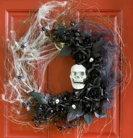 Amazing And Spooky Halloween Wreath Ideas Themescompany