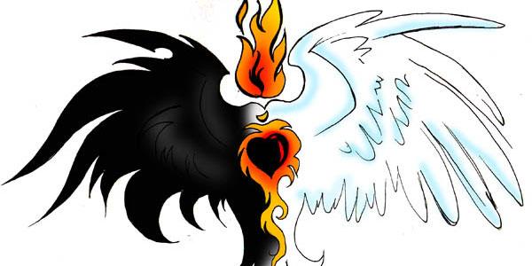 black-white-wing-tattoo