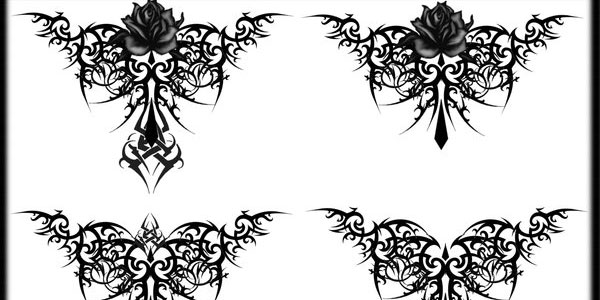 gothic-tribal-wing