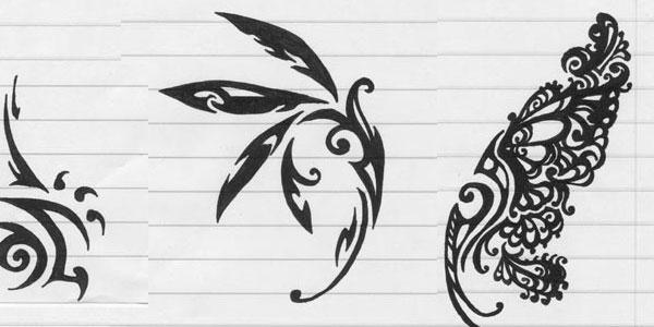 tribal-wing-tattoo