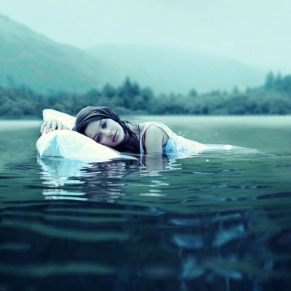 hot photos in water