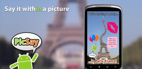 PicSay Free Android Photography App