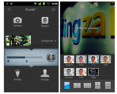 Foottr Free Android
