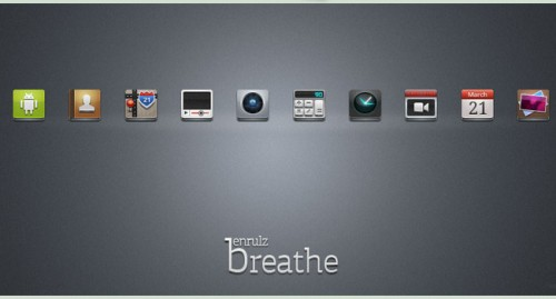Breathe Android Icons