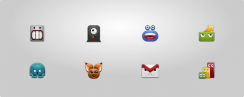 Android Monsters Icon Set