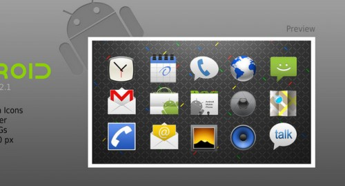 Android Application Icon Set
