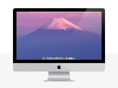 iMac.psd by Mantas Sutkus
