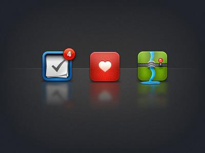 iPhone icons by Pontus Johansson