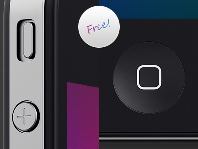 Free Iphone Template in 5 angles by Mikael Eidenberg