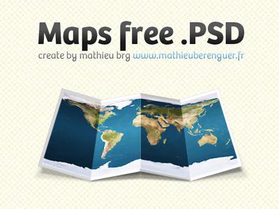 Map free psd by Mathieu Brg