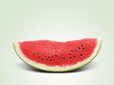 Watermelon slice by Ioan Decean