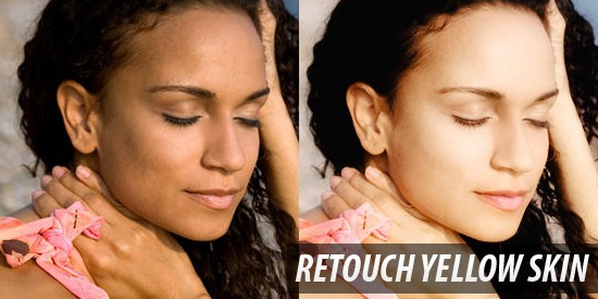 photoshop retouch_yellow_skin