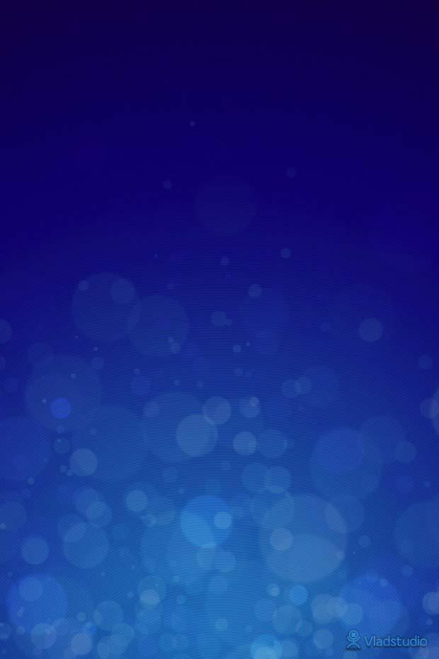vladstudio blue Wallpaper for iPhone 4S